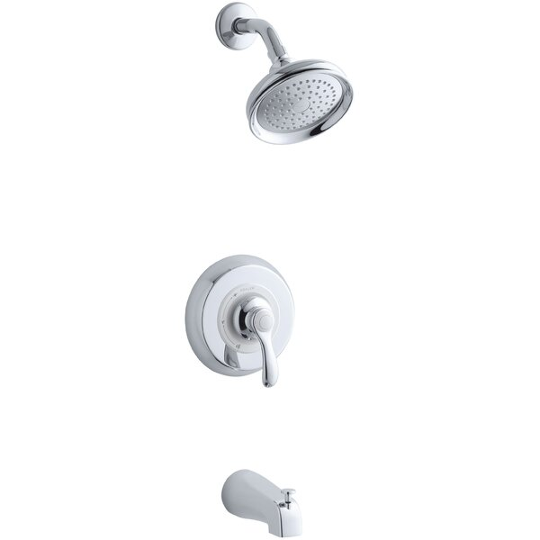 Fairfax Rite-Temp Pressure-Balancing Bath and Shower Faucet Trim, Valve Not Included by Kohler