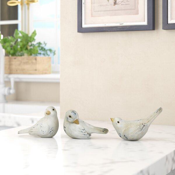 Englert Resin Bird Sculpture by Charlton Home