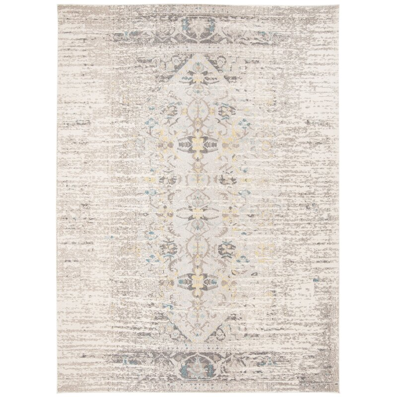 Bungalow Rose Sylvia Grey Area Rug Amp Reviews Wayfair Ca