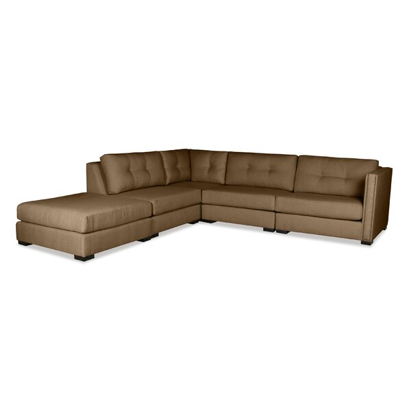 Timpson Plush Deep Modular Sectional With Ottoman By Latitude Run Fresh