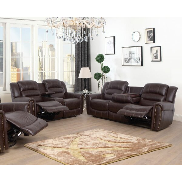 Kaeden 2 Piece Reclining Living Room Set by Red Barrel Studio