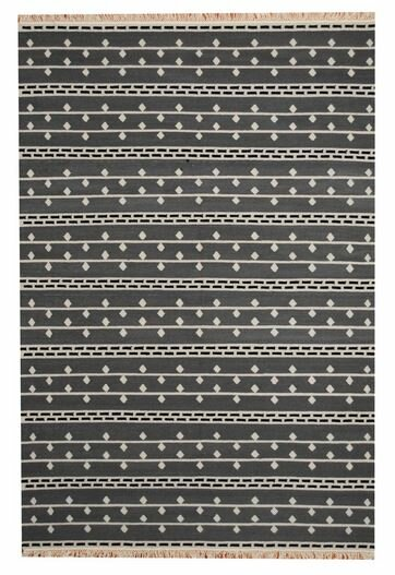 Hand-Woven Gray Area Rug by Herat Oriental