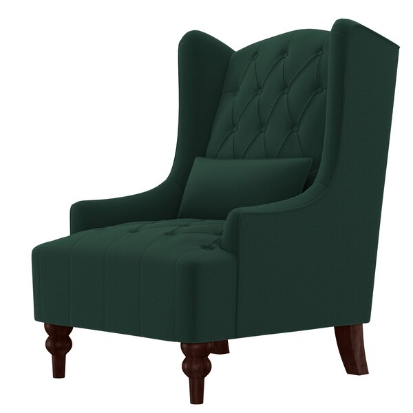 Quitaque 17-inch Wingback Chair by Three Posts Three Posts