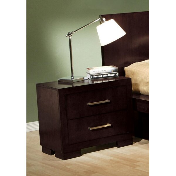 Hamler 2 Drawer Nightstand by Ebern Designs