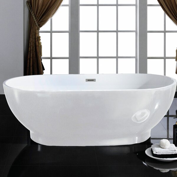Cromwell 67 x 32 Soaking Bathtub by Pacific Collection