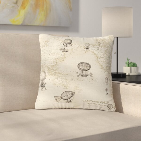 Catherine Holcombe the Southern Route Outdoor Throw Pillow by East Urban Home