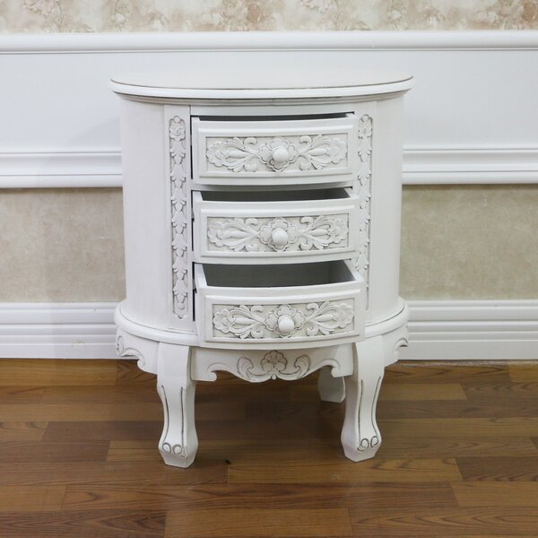 Betty 3 Drawer Nightstand by Astoria Grand