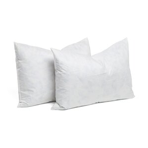 95 feather 5 down rectangular pillow insert set of 2