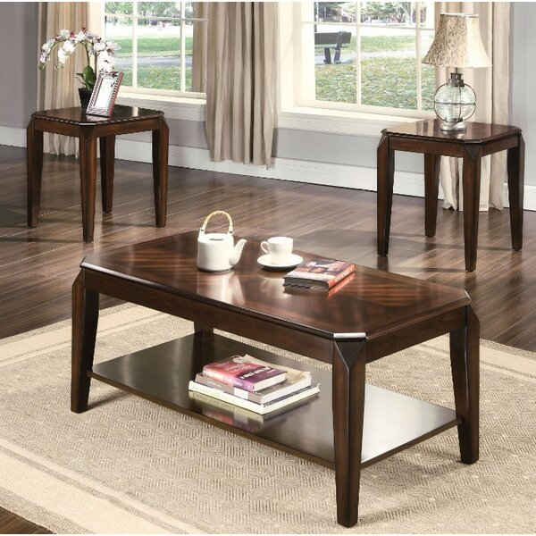 Fortson Coffee and End Table Set by Winston Porter Winston Porter