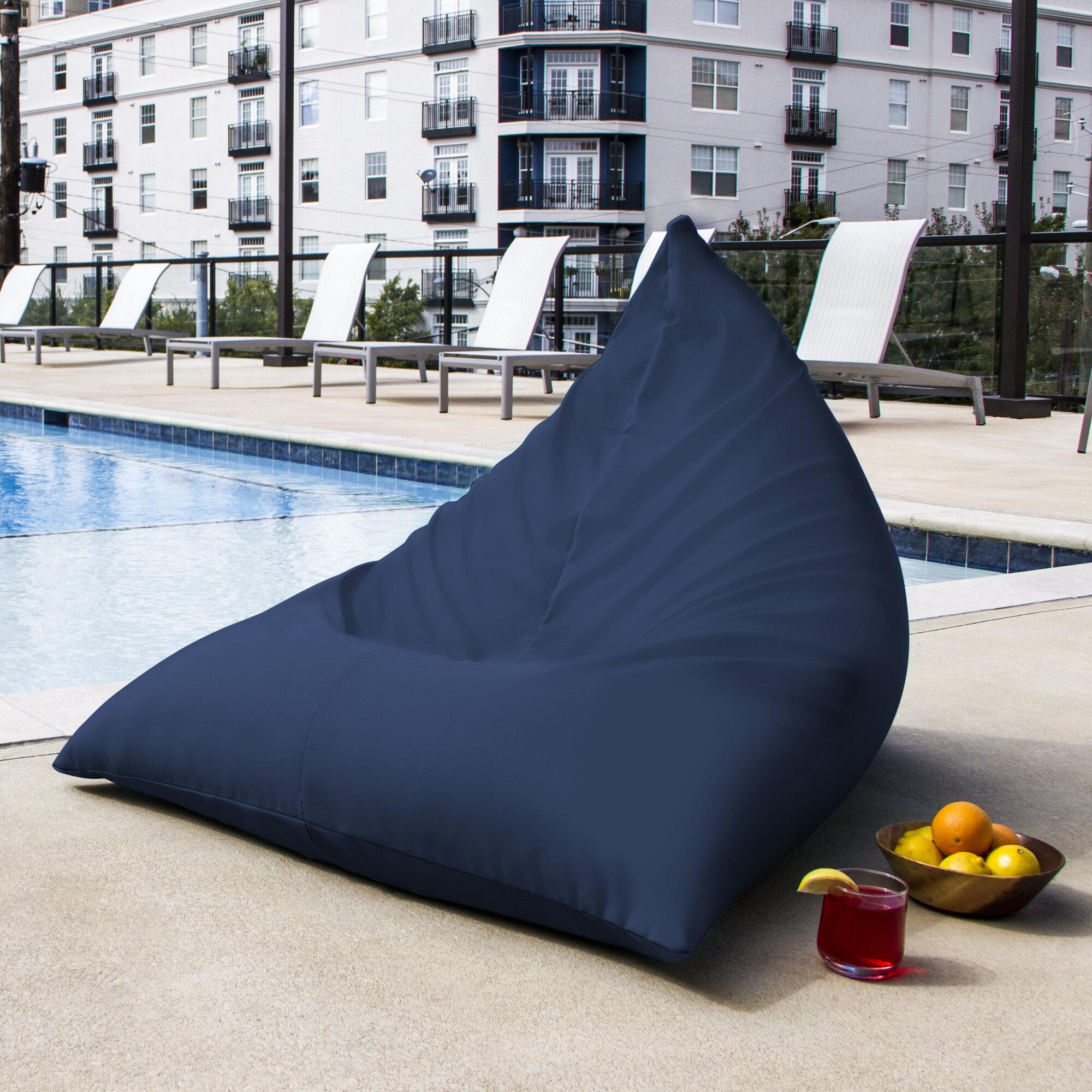 Superbe Jaxx Twist Outdoor Bean Bag Chair U0026 Reviews | Wayfair