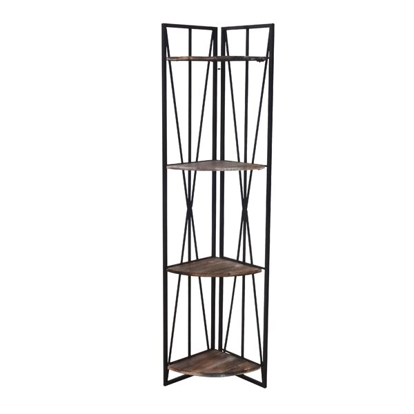 Corning Corner Etagere Bookcase by Williston Forge