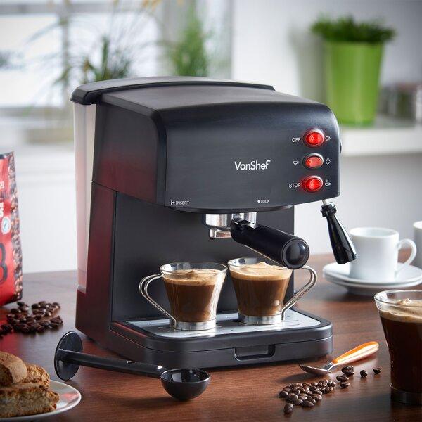 Coffee & Espresso Maker by VonShef