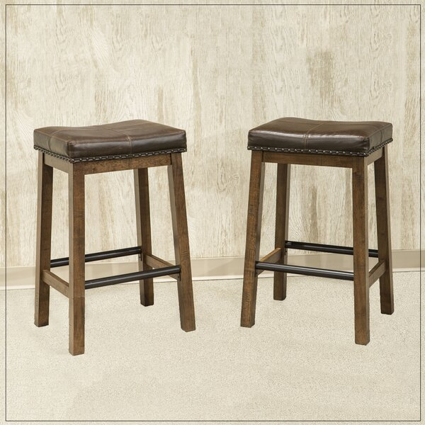 Baulch 31 Bar Stool (Set of 2) by Gracie Oaks