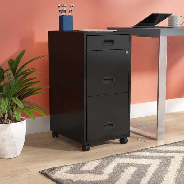 Bessie 3-Drawer File Cabinet by Zipcode Design