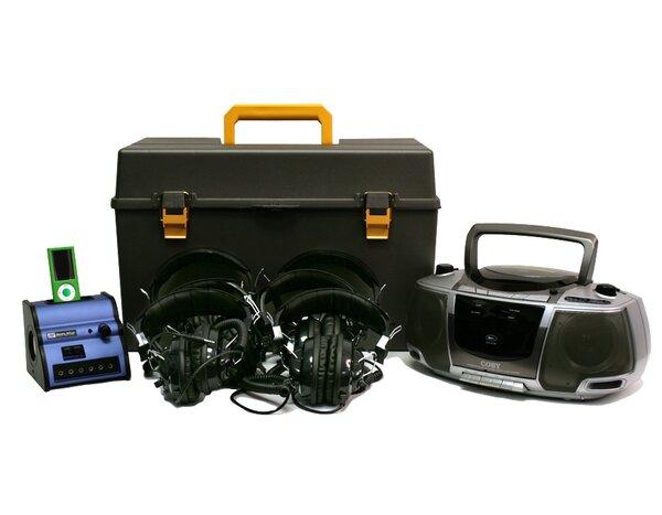 Digital Audio 6 Station Listening Center by AmpliVox Sound Systems