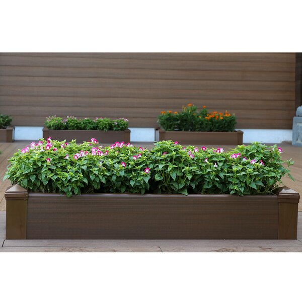 3.5 ft x 1 ft Composite Raised Garden by NewTechWood