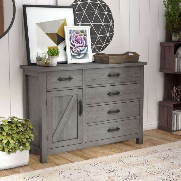 Candler 5 Drawer Gentlemans Chest by Three Posts