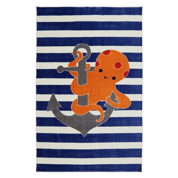 Brynn Little Octopus Area Rug by Viv + Rae