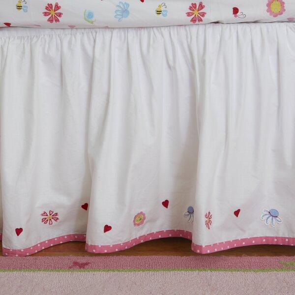 Natureland Fairies Crib Skirt by The Little Acorn
