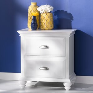 Neponset 2 Drawer Nightstand by Simmons Casegoods by Three Posts