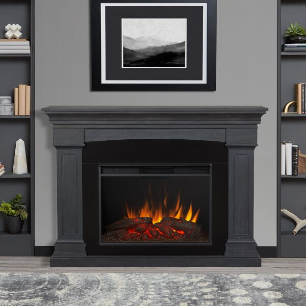 Real Flame Deland Grand 63 W Electric Fireplace Reviews Wayfair