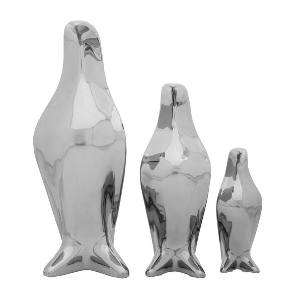 Penguin 3 Piece Figurine Set by Cole & Grey