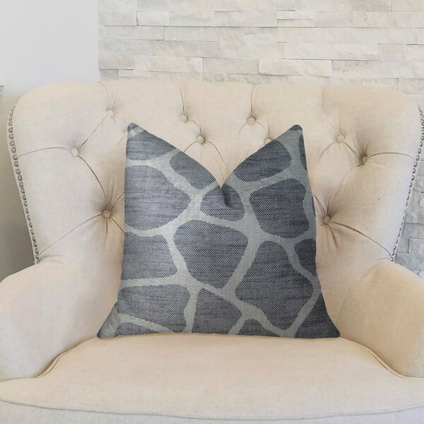 Rocky Way Onyx Handmade Throw Pillow by Plutus Brands