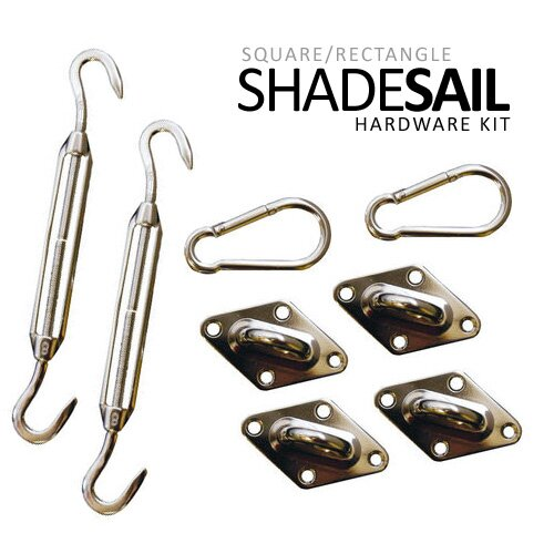 Quadrilateral Sail Shade Kit by Vandue Corporation
