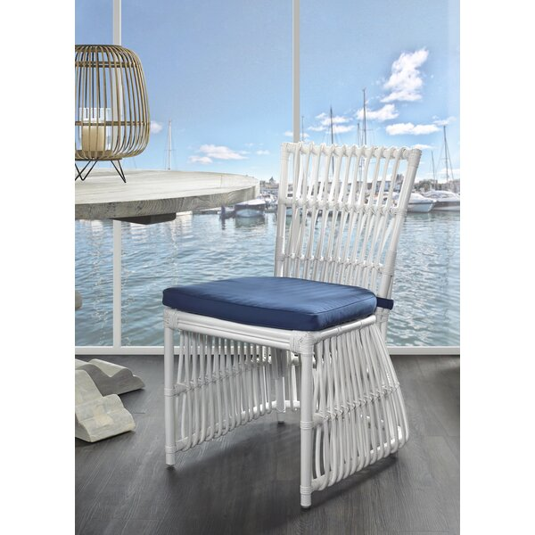 Kaius Patio Dining Chair by Rosecliff Heights