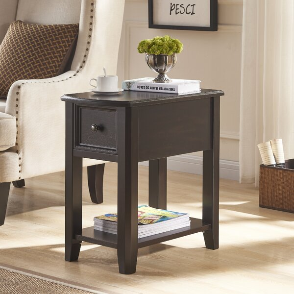Sadler End Table with Storage by Canora Grey
