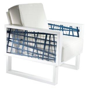 Flaxville Random Line Armchair by Brayden Studio