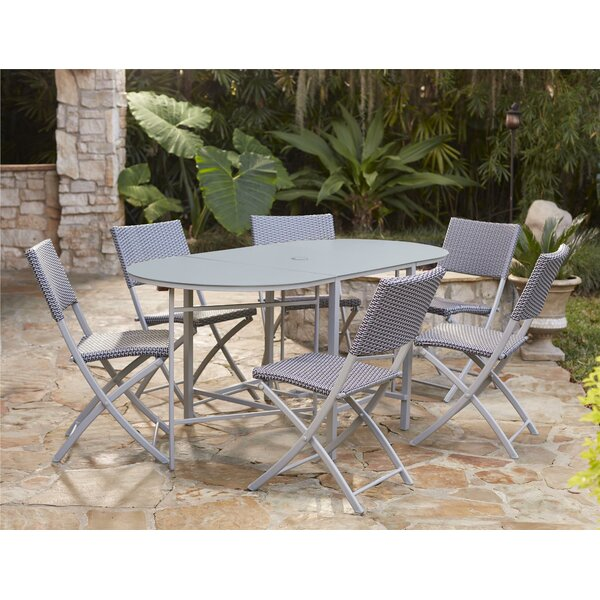 Slusser 7 Piece Dining Set by Andover Mills