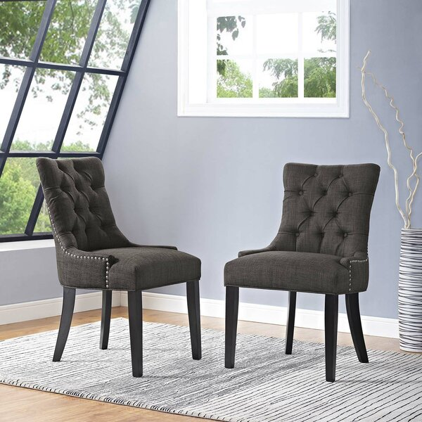 Amazing Burnett Dining Side Chair (Set Of 2) By Rosdorf Park Spacial Price