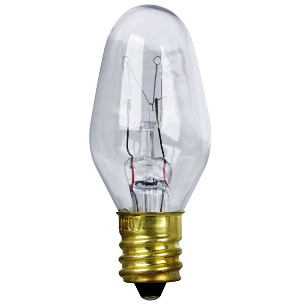 4W 120-Volt Incandescent Light Bulb (Pack of 4) by FeitElectric