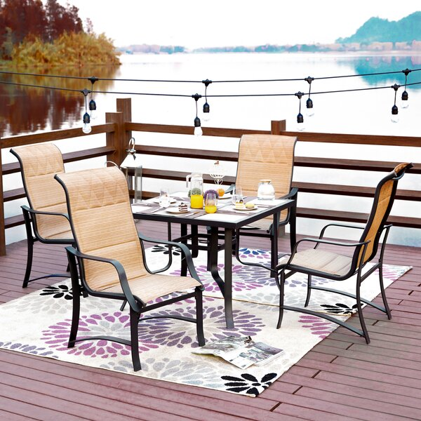 Siller 5 Piece Dining Set by Charlton Home