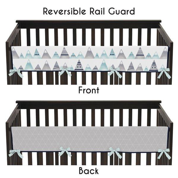 Mountains Long Crib Rail Guard Cover by Sweet Jojo Designs