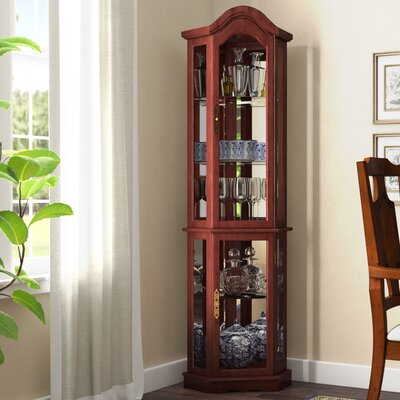Corner China Amp Curio Cabinets You Ll Love In 2019 Wayfair