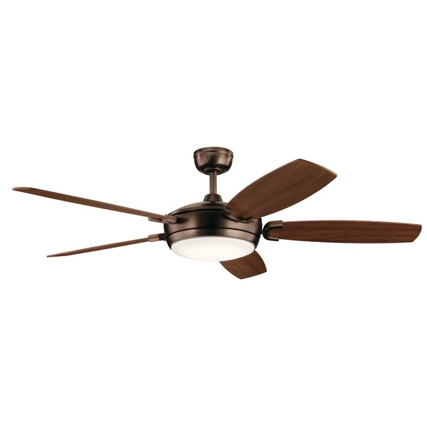 60 Wicker Park 5 Blade LED Ceiling Fan by Brayden Studio