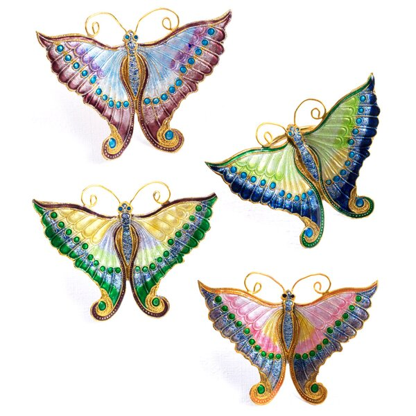 Salley Butterfly Napkin Ring by Astoria Grand