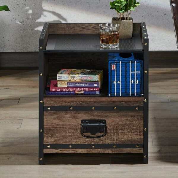 Lawler End Table by 17 Stories