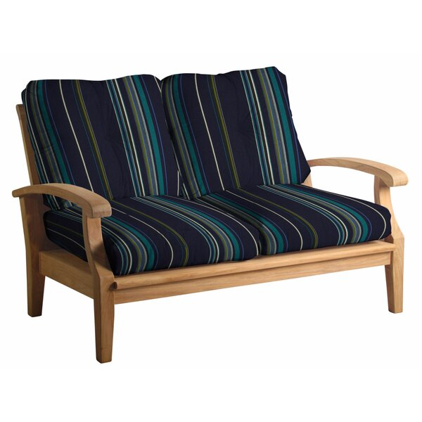 Lowery 6 Piece Teak Sofa Seating Group with Sunbrella Cushions by Rosecliff Heights