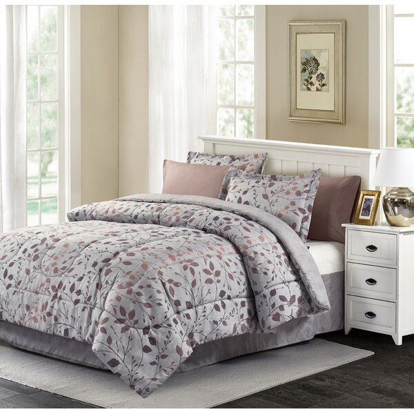 Bivins Reversible Comforter Set by Charlton Home