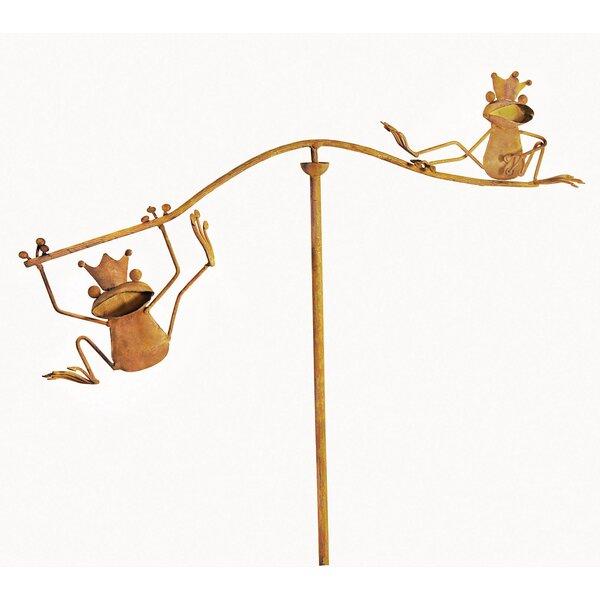 Balancing Buddies Frogs Pinwheel (Set of 2) by Red Carpet Studios LTD