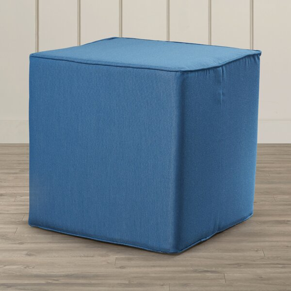 Samoset Cube Ottoman by Rosecliff Heights