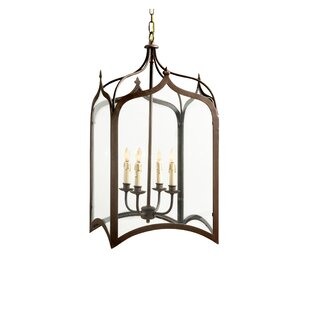 Searching for Chesterfield 4-Light Outdoor Hanging Lantern By Canora Grey