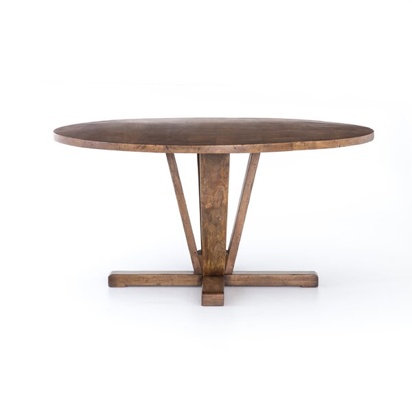 Savino Solid Wood Dining Table by Union Rustic Union Rustic