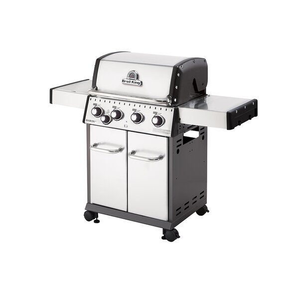Baron 440 4-Burner Gas Grill with Side Burner by Broil King