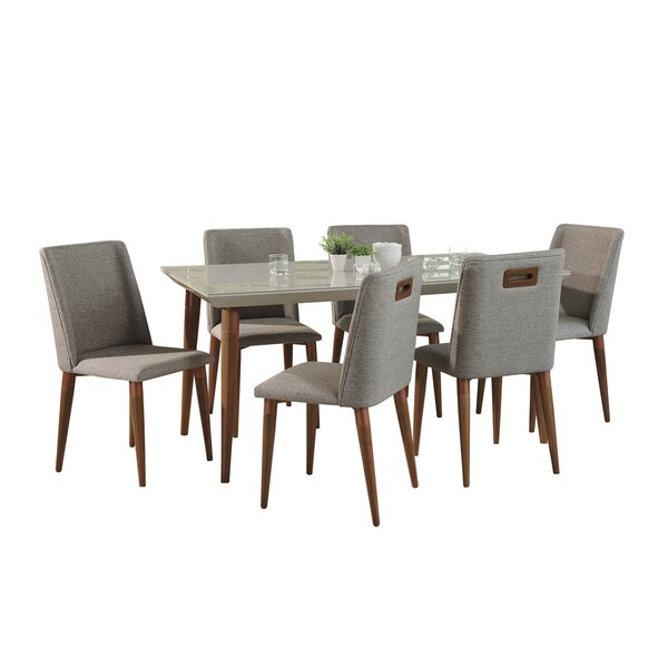 Lemington 7 Piece Dining Set by George Oliver