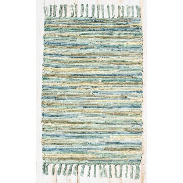 Velvet Aqua/Turquoise Area Rug by CLM