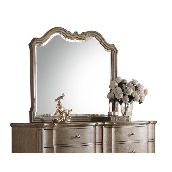 Arched Frame Dresser Mirror by One Allium Way